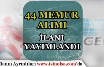 KOSGEB Memur Alımı İlanı Yayımlandı! 44 KOBİ Uzman Yardımcısı Alınacak!