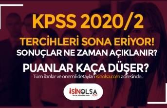 KPSS 2020/2 Tercihleri Sona Eriyor! Sonuçlar Ne Zaman Açıklanır?
