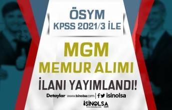 ÖSYM KPSS 2021/3 Tercih Kılavuzu İle MGM Memur Alımı Yapacak! KPSS En Az 50