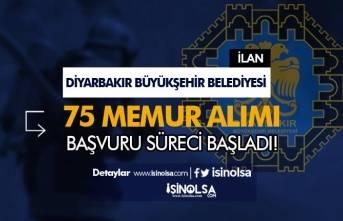 Diyarbakır Büyükşehir Belediyesi Memur Alımı Başladı! 75 İtfaiye Eri Alınacak!