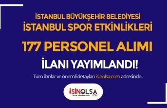 İBB İstanbul Spor Etkinlikleri 177 Antrenör ve Personel Alımı İlanı Yayımladı!