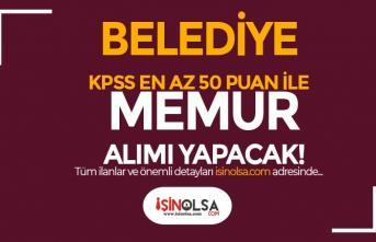 Osmaneli Belediyesi En Az 50 KPSS Puanı İle 6 Farklı Alanda Memur Alımı İlanı