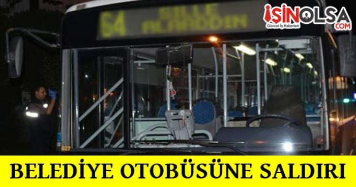 Belediye Otobüsüne Silahlı Saldırı Yapıldı!