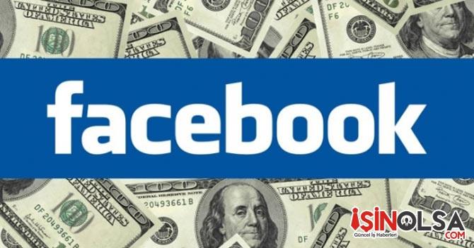 Facebook Paraya Para Demiyor