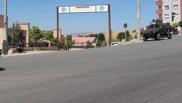Şırnak,Cizre'de Sokağa Çıkma Yasağı