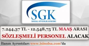 Sosyal Güvenlik Kurumu Sözleşmeli Personel Alımı 2016