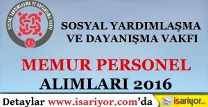 Van Özalp SYDV Personel Alımı
