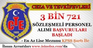 CTE 3 Bin 721 Sözleşmeli Personel Alımı Başvuruları Başladı