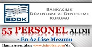 Bankacılık Düzenleme ve Denetleme Kurumu Memur Personel Alımı