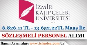 İzmir Katip Çelebi Üniversitesi Sözleşmeli Personel Alımı