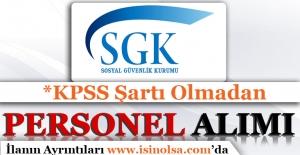 SGK Personel Alımı 2016