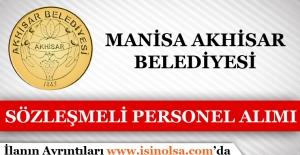 Akhisar Belediyesi Sözleşmeli Personel Alımı