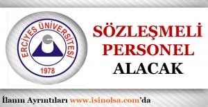 Erciyes Üniversitesi Sözleşmeli 35 Hemşire Alımı Yapacak