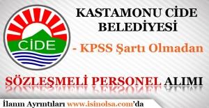 Kastamonu Cide Belediyesi Sözleşmeli Personel Alımı