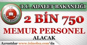 Bakan Açıkladı: '2 Bin 750 Hakim ve Savcı Alınacak'