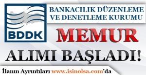 BDDK Memur Alımı Başvuruları Başladı!
