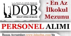 Mersin Devlet Opera ve Balesi Farklı Pozisyonlarda Personel Alıyor