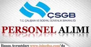 ÇSGB Avrupa Birliği ve Mali Yardımlar Dairesi Başkanlığı Sözleşmeli Personel Alımı