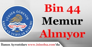 Gençlik ve Spor Bakanlığı Bin 44 Memur Alımı Sürüyor