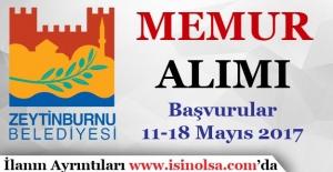 İstanbul Zeytinburnu Belediyesi Memur Alımı Gerçekleştiriyor