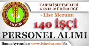 Tarım İşletmeleri Genel Müdürlüğü 140 Personel Alım İlanı Yayımladı!