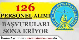 DHMİ 126 Personel Alımı Başvuruları Sona Eriyor!