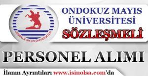 Ondokuz Mayıs Üniversitesi 2016 KPSS İle Sözleşmeli Personel Alımı