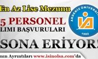 Akdeniz Üniversitesi 75 Sözleşmeli Personel Alımı Başvuruları Sona Eriyor!
