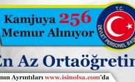 Kamu Kurumları En az Ortaöğretim Mezunu 256 Sözleşmeli Memur Alımı Yapıyor!