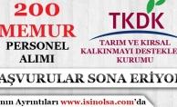TKDK 200 Memur Personel Alımı Başvuruları Sona Eriyor!