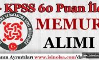 Bilecik SYDV KPSS 60 Puan İle Personel Alımı Yapıyor!