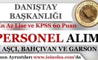 Danıştay Başkanlığı KPSS 60 Puan İle Sözleşmeli Destek Personeli Alım İlanı Yayımladı!