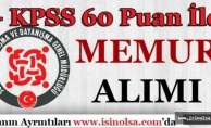 İstanbul Pendik SYDV KPSS 60 Puan İle Personel Alımı