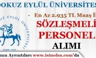 Dokuz Eylül Üniversitesi Sözleşmeli Hemşire Alımı Yapıyor!