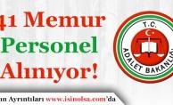 Adalet Bakanlığı 41 Sözleşmeli Memur Alımı Başvuruları Sürüyor! Tüm Pozisyonlar