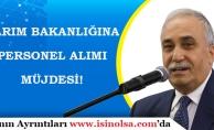 """Tarım Bakanı Fakıbaba Personel Alımı Müjdesi: """"Bakanlar Kurulunda Gündeme Geldi"""""""