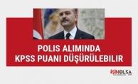 """Bakan Soylu """"Polis Alımında KPSS Puanını Düşürebiliriz"""" dedi"""