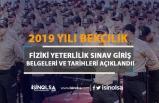 Polis Akademisi 2019 /2 Bekçilik Fiziki Yeterlilik Sınavı Giriş Belgelerini Yayımladı!
