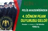 Polis Akademisi 4.Dönem PAEM Duyurusu Yaptı