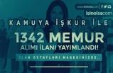 İŞKUR Kamu Memur Alımı İlanları: 1342 Kamu Personeli Alınacak!