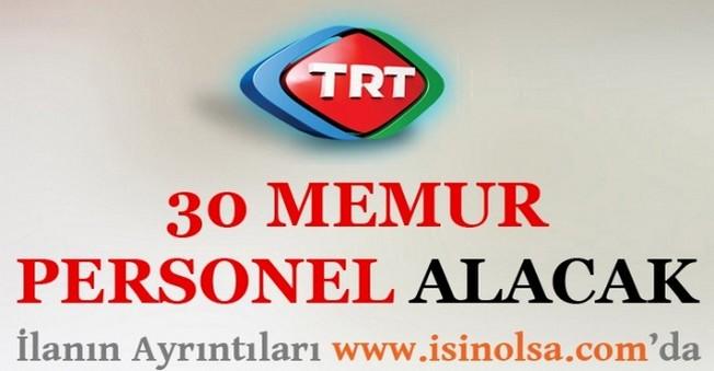 TRT Memur Personel Alımı