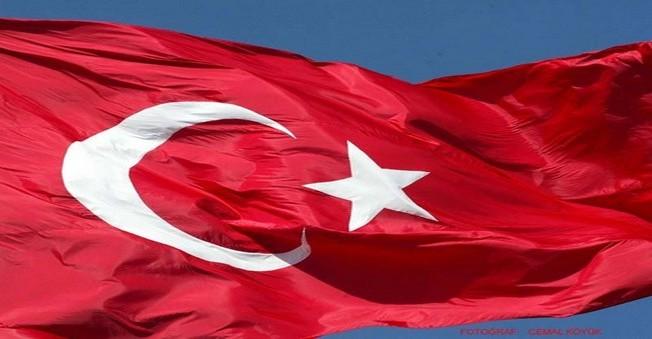 Türk Bayrağına Çirkin Saldırı Kameralarda