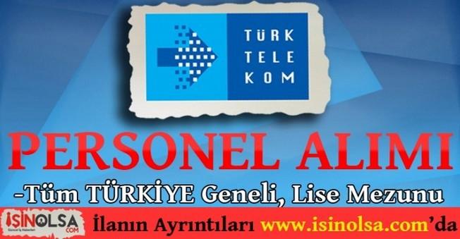 Türk Telekom Personel Alımı ve İş İlanları