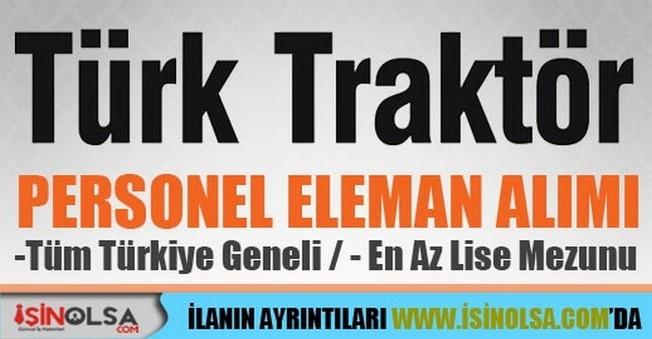 Türk Traktör İşçi Personel Alımları
