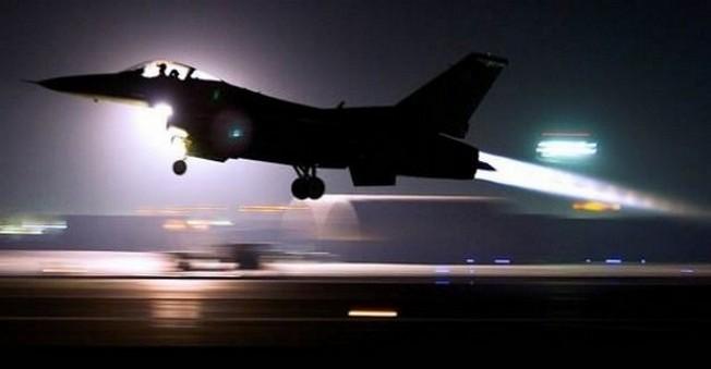 Uçaklar İŞİD'in Mevzilerini Vurmaya Başladıalr