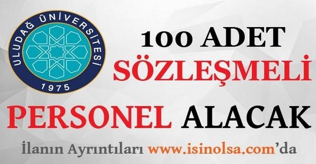 Uludağ Üniversitesi 100 Sözleşmeli Personel Alacak