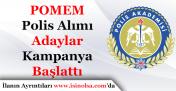 POMEM Polis Alımı Önlisans Mezunu Adaylar Kampanya Başlattı!