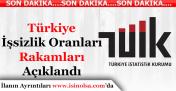 Türkiye İstatistik Kurumu İşsizlik Rakamını Açıkladı! Türkiye İşsizlik Oranı