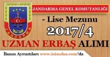 Jandarma Genel Komutanlığı 2017/4 Sözleşmeli Personel Alımı