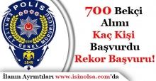 700 Bekçi Alımına Kişi Başvuru Yaptı! Rekor Başvuru